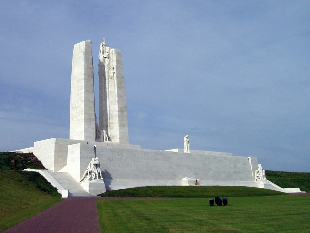 Image of the Canadian National Vimy Memorial